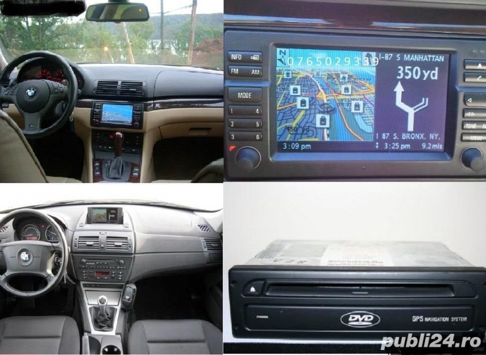 DVD navigatie BMW mk4 /Mini Cooper/ Rover 75 - Romania / Europa 2018