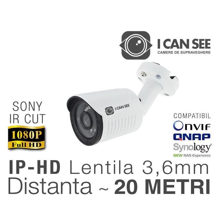 Camera video Ip ICSS-IP2400S, Rezolutie Full HD,Lentila Fixa 3,6mm, V1