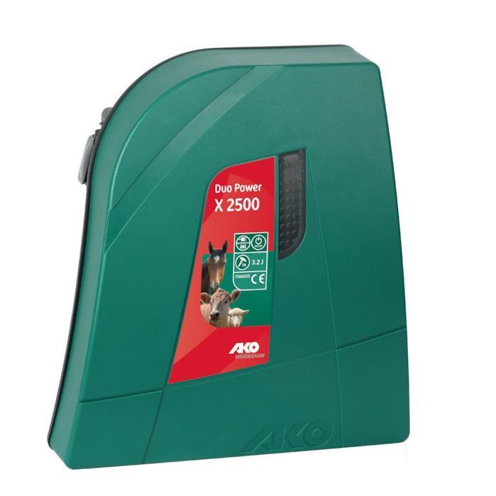 Generator impulsuri  garduri electrice, AKO Duo 2500X, 3 ani garantie