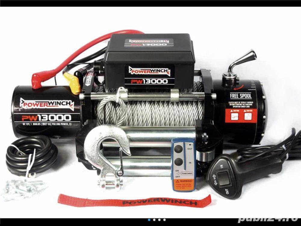 Troliu PowerWinch 13000LB  NOU