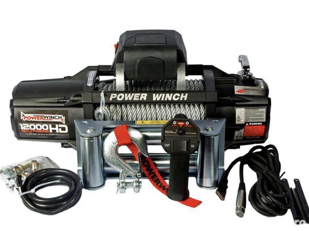 Troliu PowerWinch PW 12000 EXTREME HD (5443kg) NOU