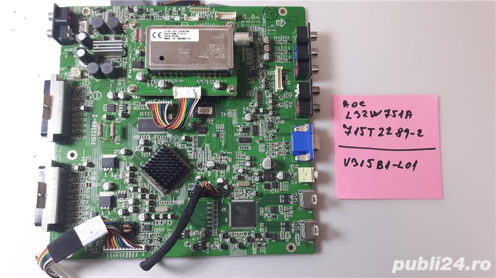 aoc l32w751a 715t2289-2 display defect - spart