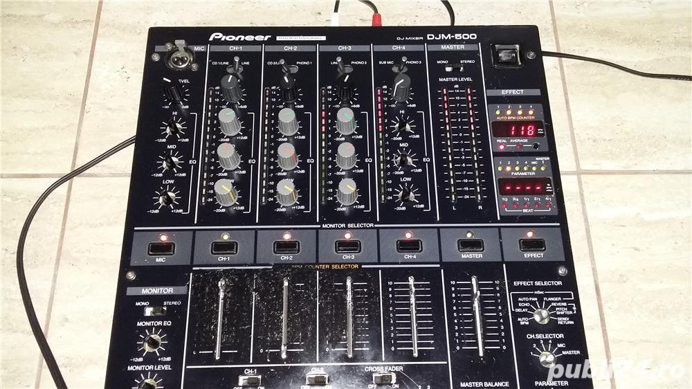 Mixer dj pioneer djm500,allen&heat,rane,numark,reloop,ecler,behringer,dap,dynacord,lem,yamaha,americ