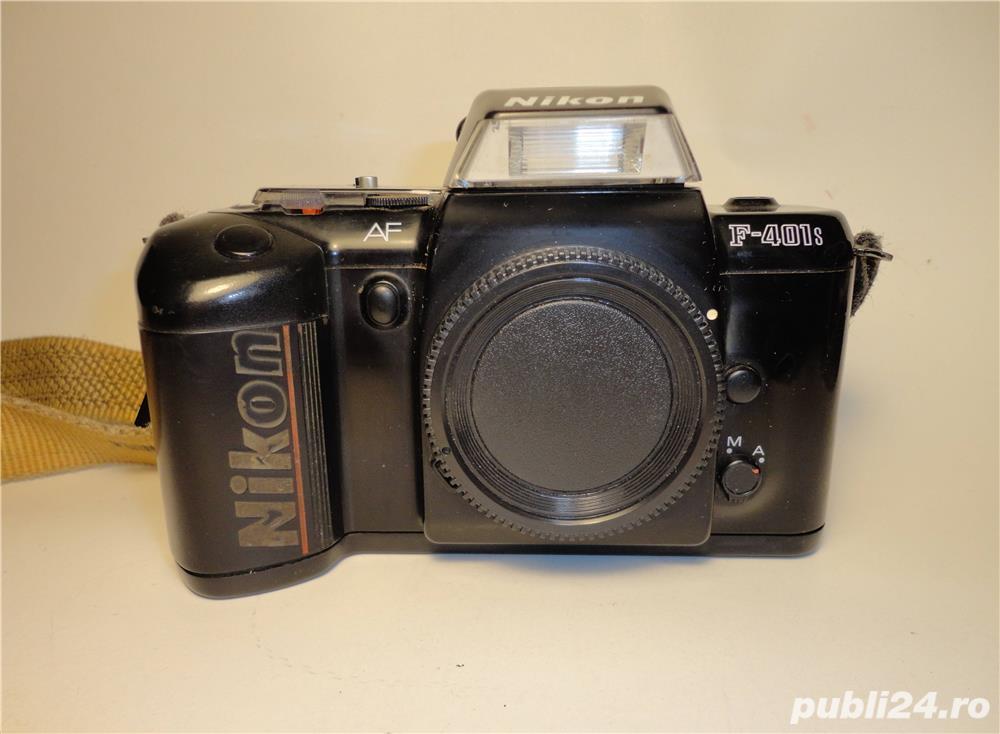 Nikon F-401s - Aparat foto SLR pe film de 35mm