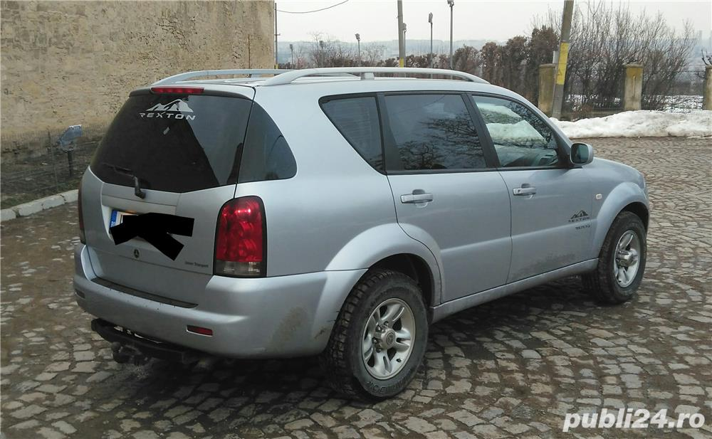 ssangyong rexton 4x4 suv off road iasi auto moto. Black Bedroom Furniture Sets. Home Design Ideas