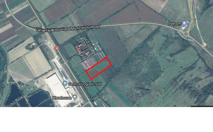 Vanzare teren 2,5 ha
