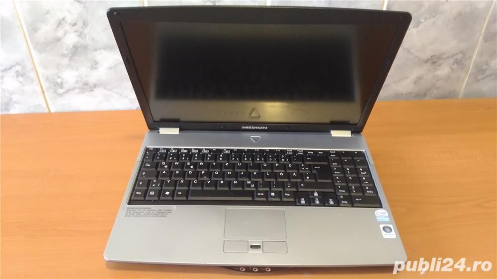 "Laptop MEDION 15.4"" dualcore T2330 2x1.60GHz hdd 160 ram 3GB"
