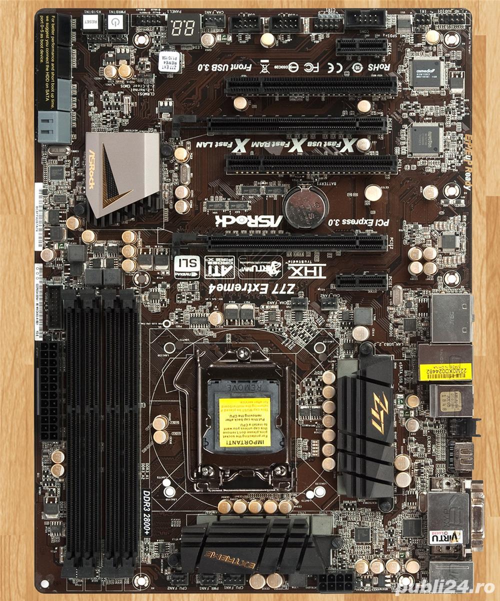 Vand kit I5 unlocked LGA1155, Asrock Z77 Extreme4