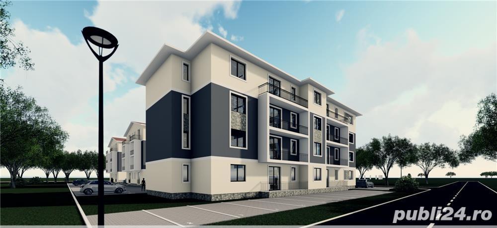 Apartament 3 camere (decomandat ) -73mp zona rezidentiala bloc nou