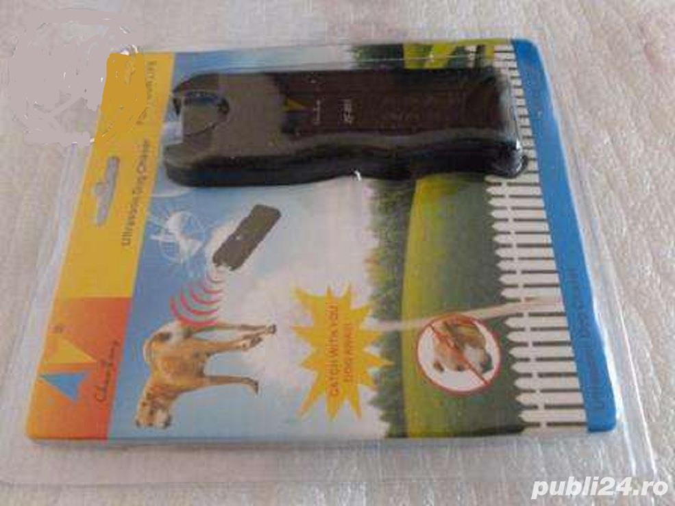 dispozitiv cu ultrasunete pt alungarea cainilor agresivi,ramburs