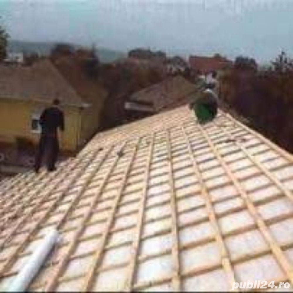 Firma realizam  constructii de case de la zero -acoperisuri -reparatii acoperisuri -dulgherii