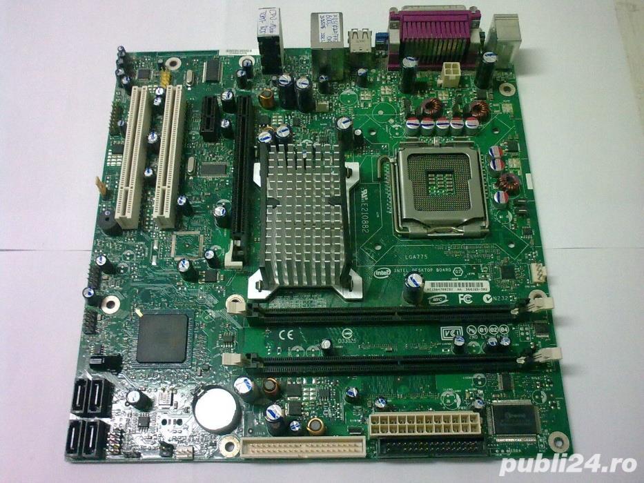 Placa de baza Intel D496GZIS socket 775