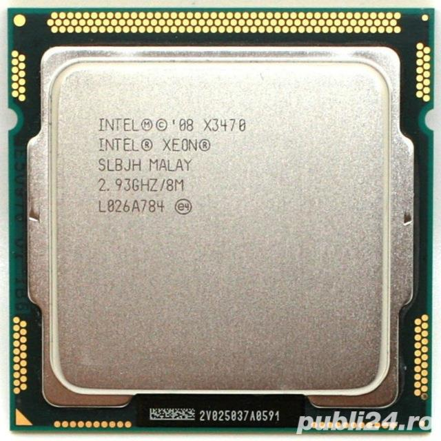 Procesor gaming Intel Xeon X3470 Quad Core (8 threads)