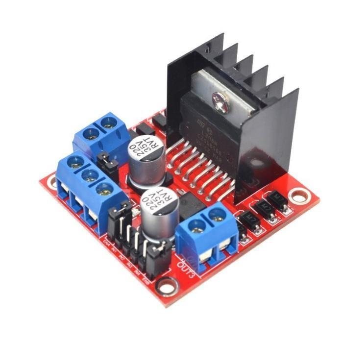 Dual H Bridge DC Stepper Motor Drive Controler Board L298N for Arduino