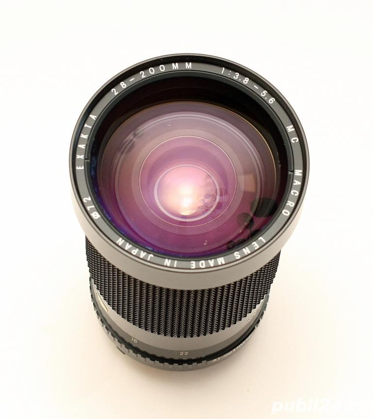 Exakta 28-200mm F3,8-5,6 MC Macro - Nikon