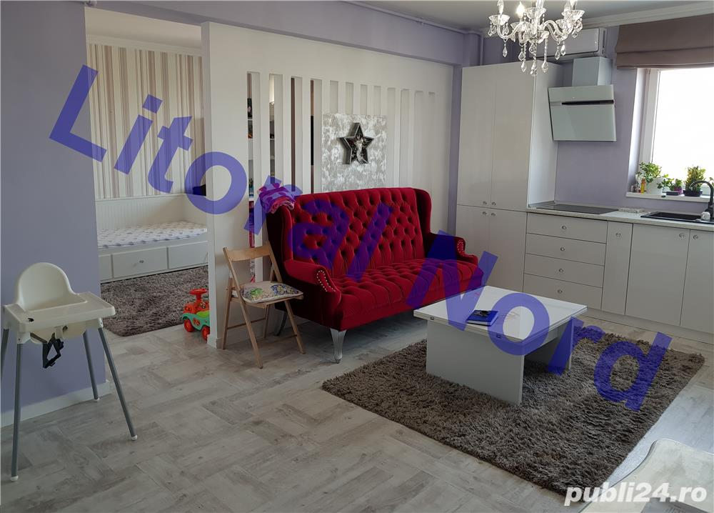 Intim, bloc nou, apartament 2 camere, modificat in 3 camere,mobilat,utilat,lux