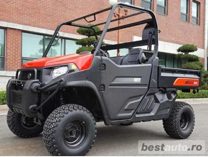 Jeep nou, 4x4 UTV Kioti K9 2400,24CP
