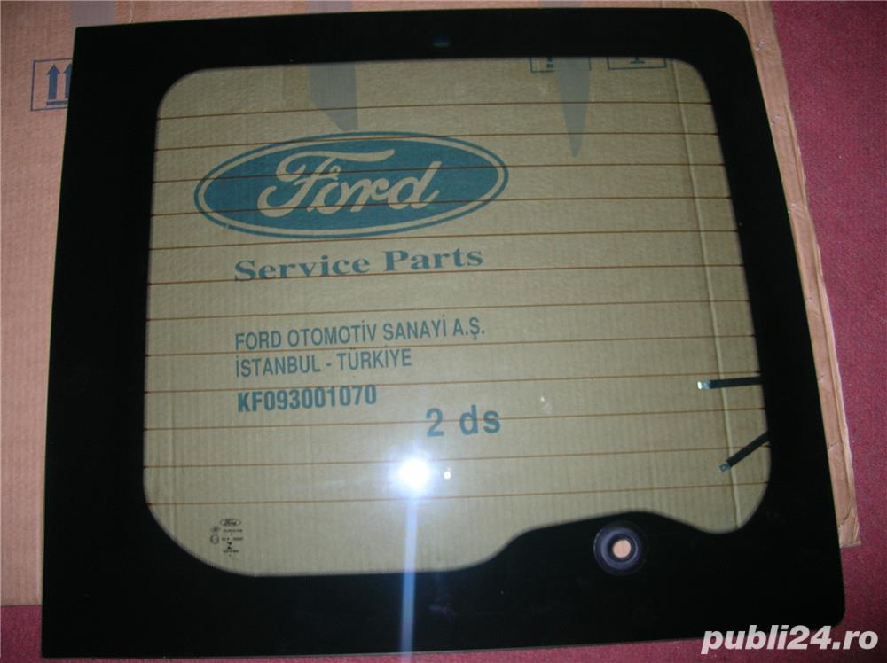 Geam - luneta, usa spate Ford Transit
