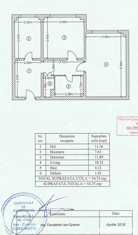 Apartament 2 camere  Luica  Bucuresti
