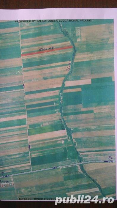 vand teren 6700 mp extravilan-agricol in apropierea soselei Brasov- Tarlungeni (DJ 107A)