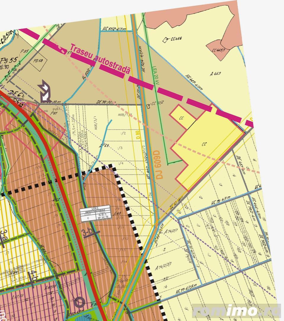 De vanzare 5 ha de teren pe drumul spre Aeroport