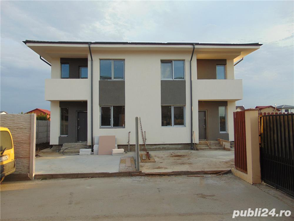 FARA COMISIOANE casa 2018 cu 3 camere 2 bai P+1+pod cu placa de beton terasa finisaje LA CHEIE