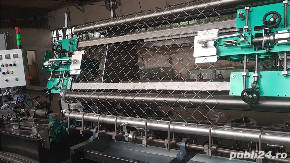 masina de impletit plasa automata