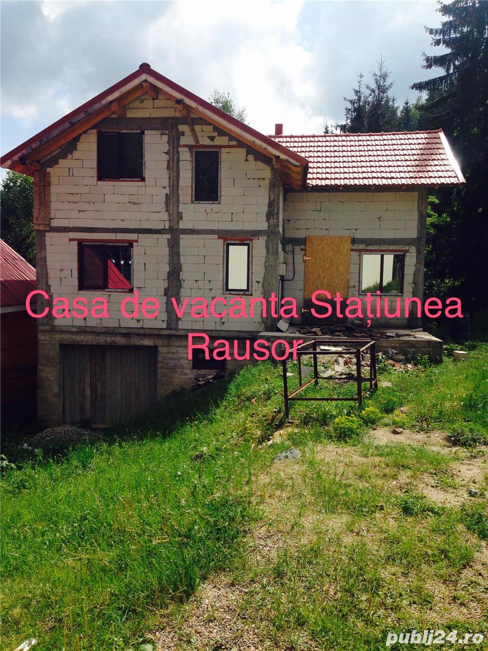 Casa de vacanta in Statiunea Montana Rusor Retezat
