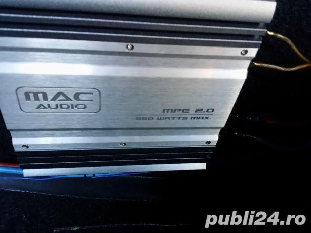 Statie Mac + subwoofer auto Ground Zero 350W RMS