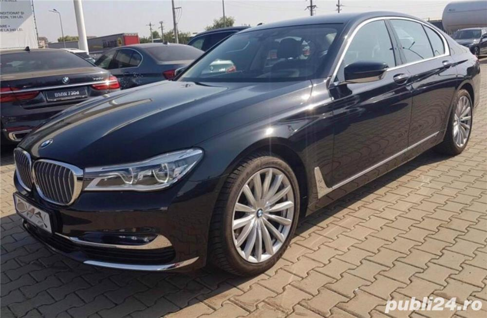 BMW 740d XDrive 390cp G11 Laser Head Up Soft