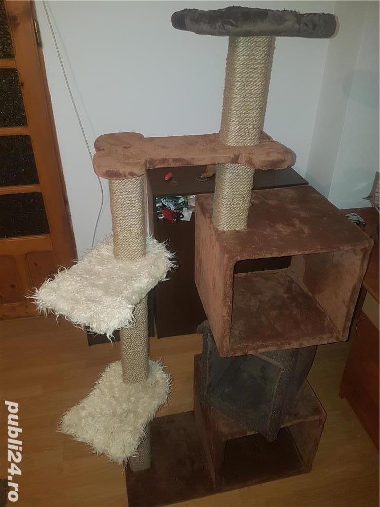 Ansamblu de joaca pisici Sisal/spatiu pisici/jucarii animale