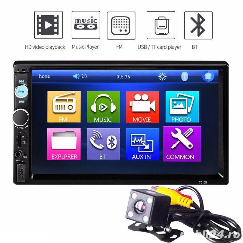 "Auto Player ecran7""HD Touchscreen Bluetooth RadioUSB,Camera,Mp3,Mp4 AutoVideo Player ecran7""HD"