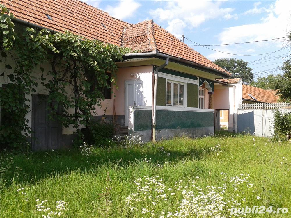 Casa la tara cu gradina, de vanzare in sat Ileni, jud Brasov, 1900mp
