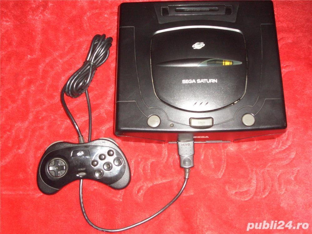 Sega Saturn Modat +20 Jocuri +accesorile aferente (schimb)