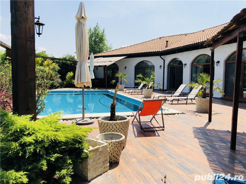 Vila mediteraniana cu piscina pentru evenimente