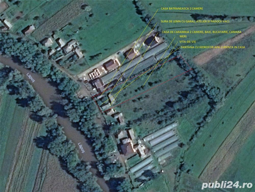 Vanzare  terenuri constructii  4500 mp Maramures, Ocolis  - 157500 EURO