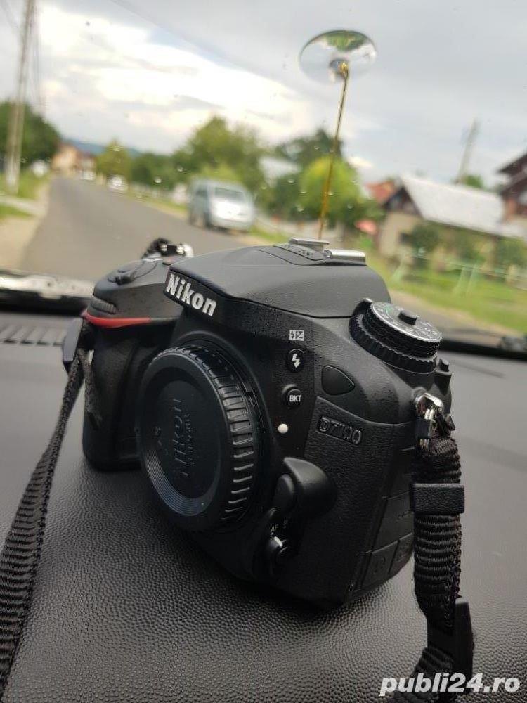 Nikon d7100+garantie+obiectiv 55-200
