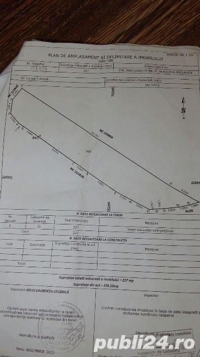 teren baicului 947 mp deschidere 25 ml la 349000 euro