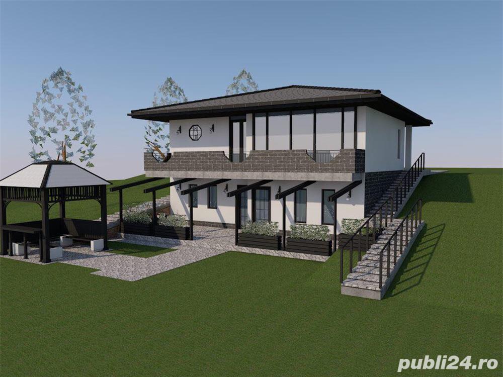Vand teren intravilan pentru casa, 20 € mp, cu proiect si autorizatie constructie, toate utilitatile