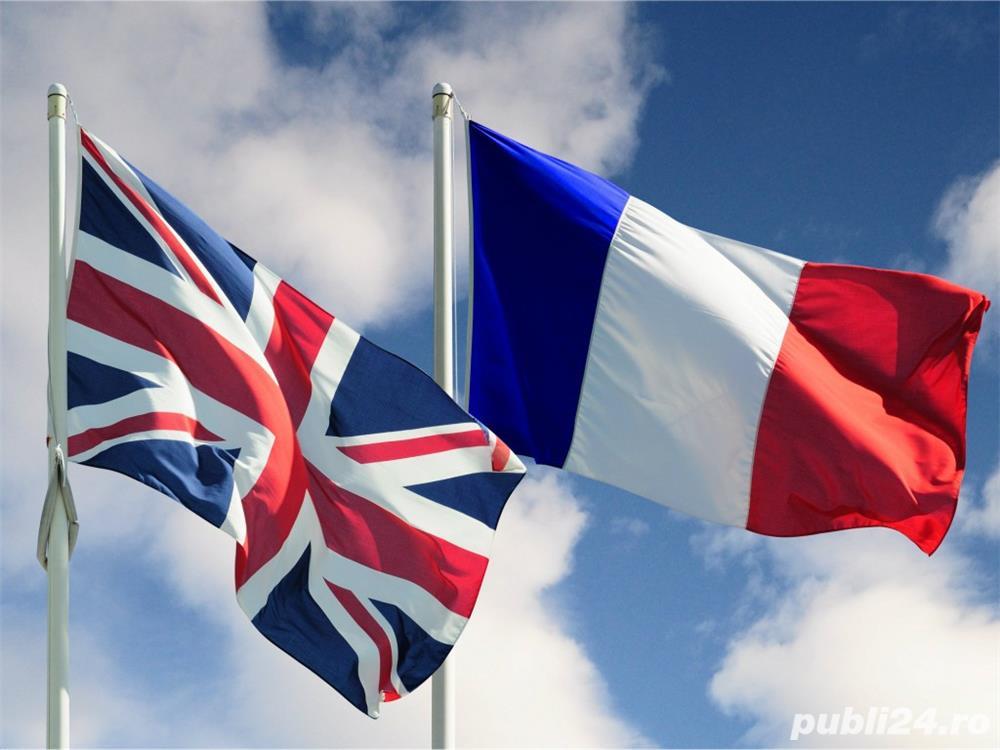 Engleza, Franceza