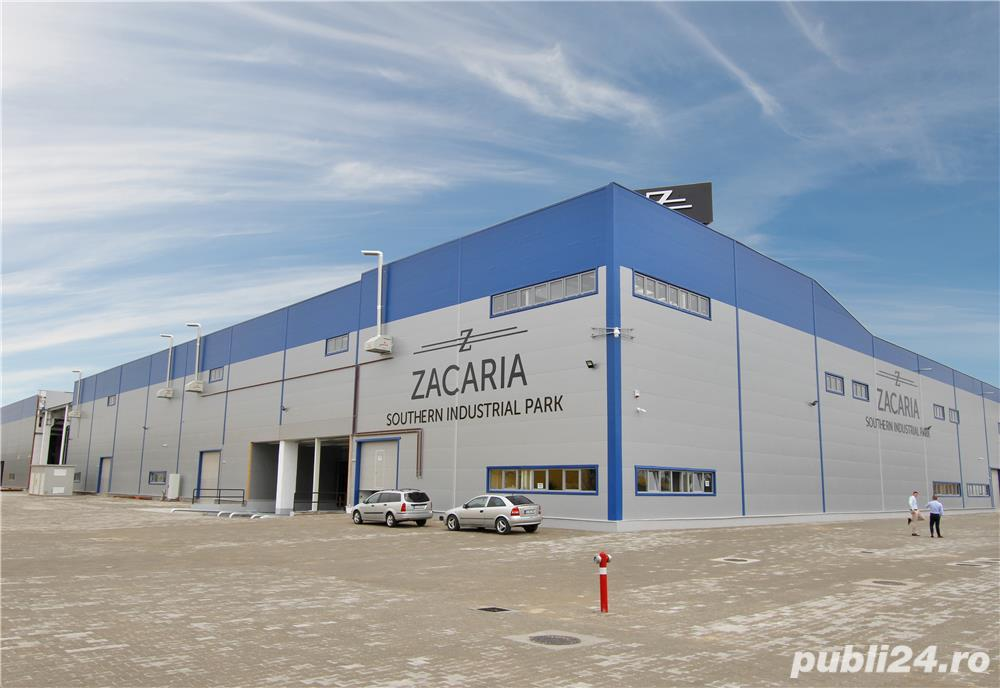 Spatiu industrial de inchiriat 400 m2 - 4.15 eur/m2