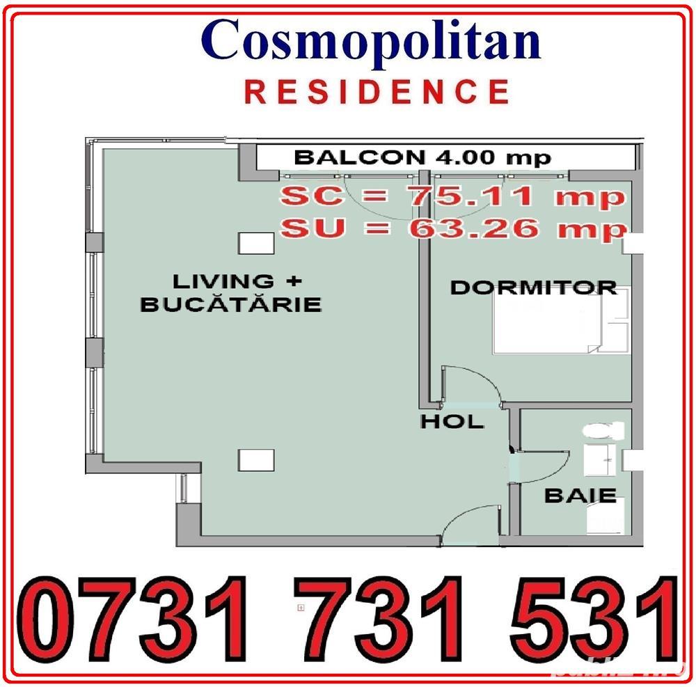 52 000 euro Apartament 2 camere Spatios cu finisaje in bloc nou