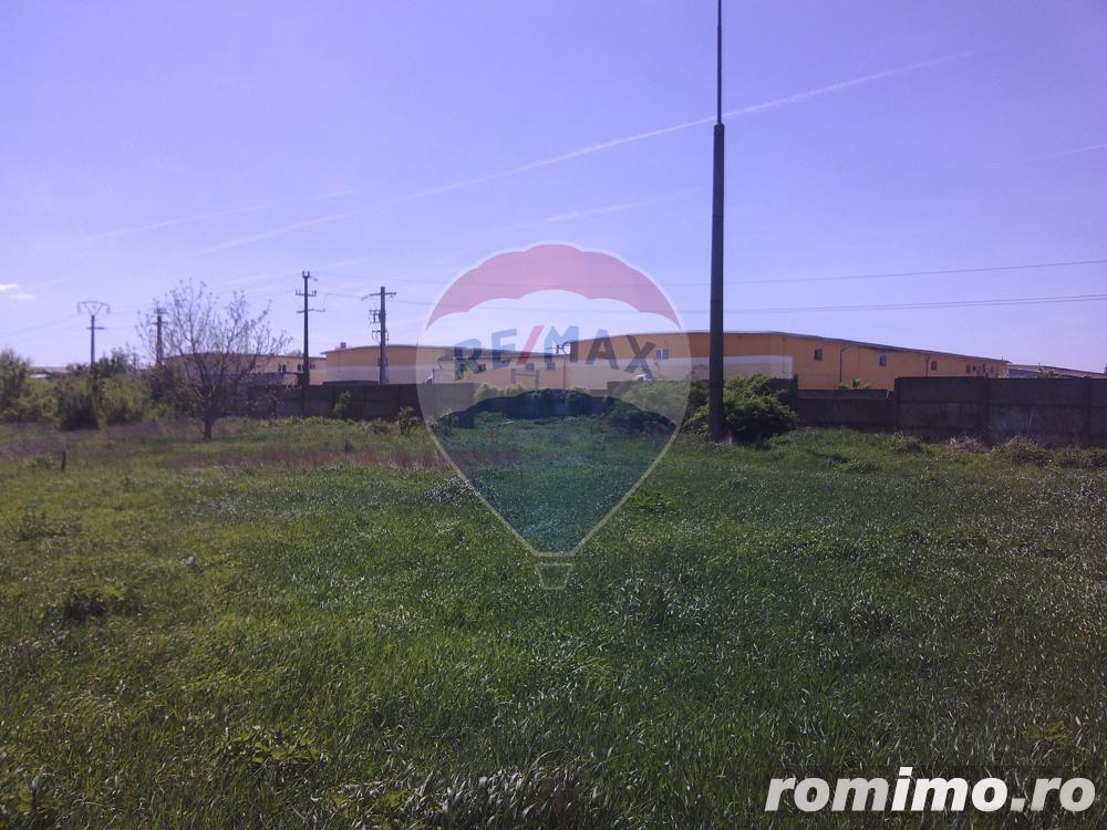 Teren de 5,000 mp Oradea - Zona Industriala Borsului