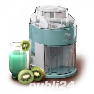 Storcator de fructe si legume DeLonghi RoboDiet Compact KC280, 170 W, Recipient suc 0.5 l, Verde