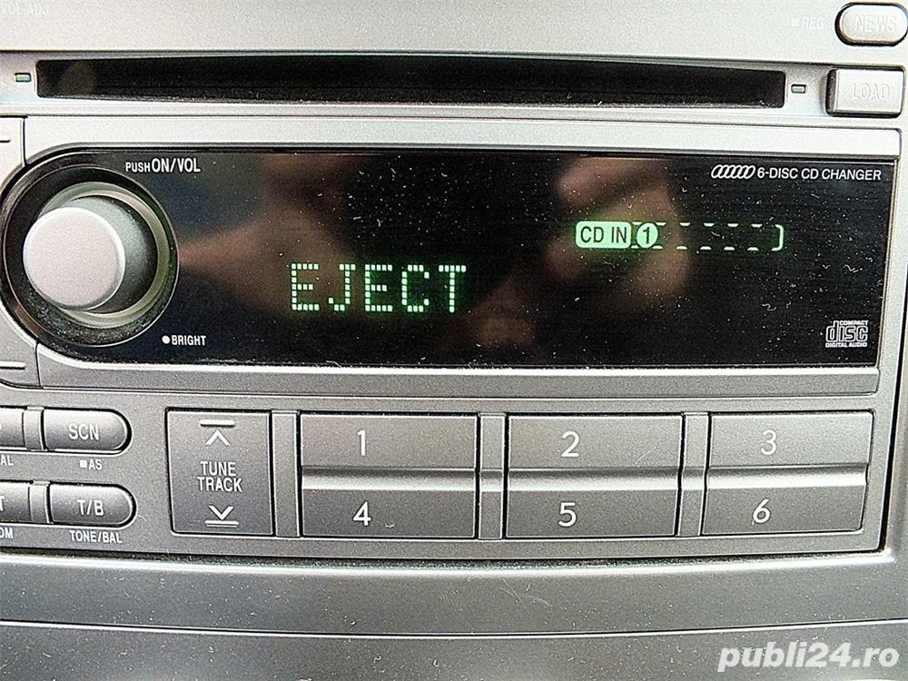Unitate audio si difuzoare(boxe) OEM Subaru Forester SG 2006-2008