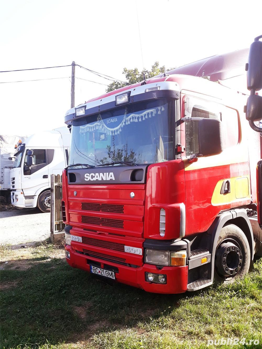 Dezmembrez Scania 124L 400