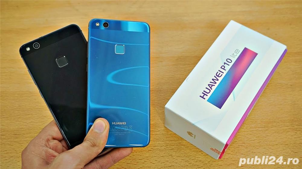 Huawei P10 Lite Negru Black Ultimul NOU Liber Amprenta 32 GB 3 GB RAM
