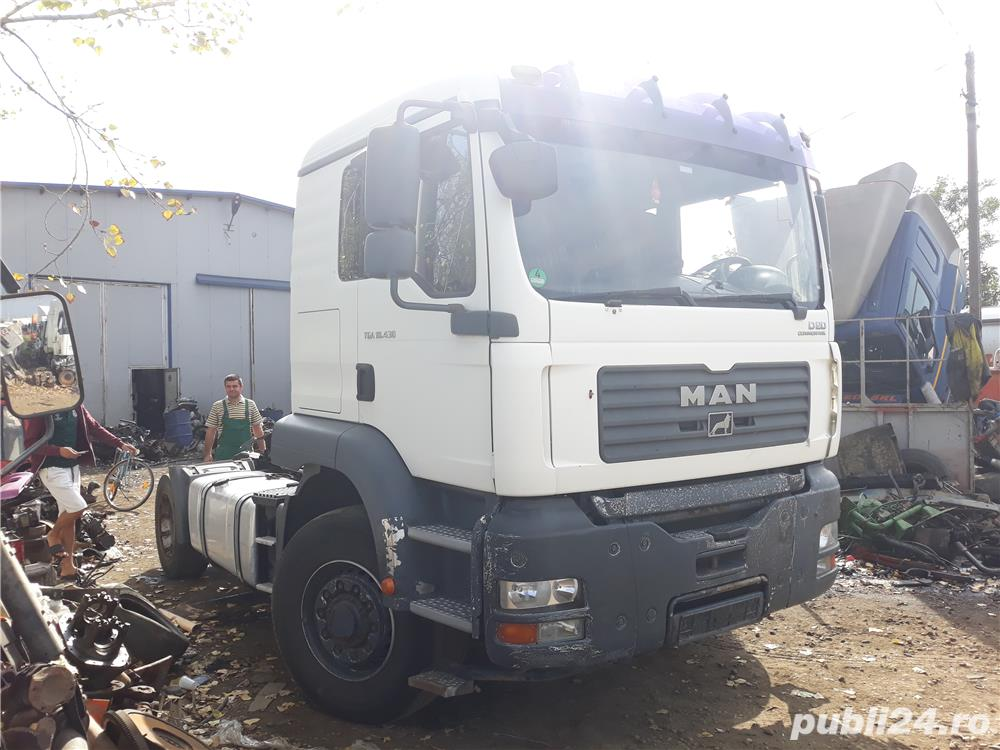 Dezmembrez MAN TGA 18.430 D20 COMMON RAIL 4x4 Hidrodrive Germany