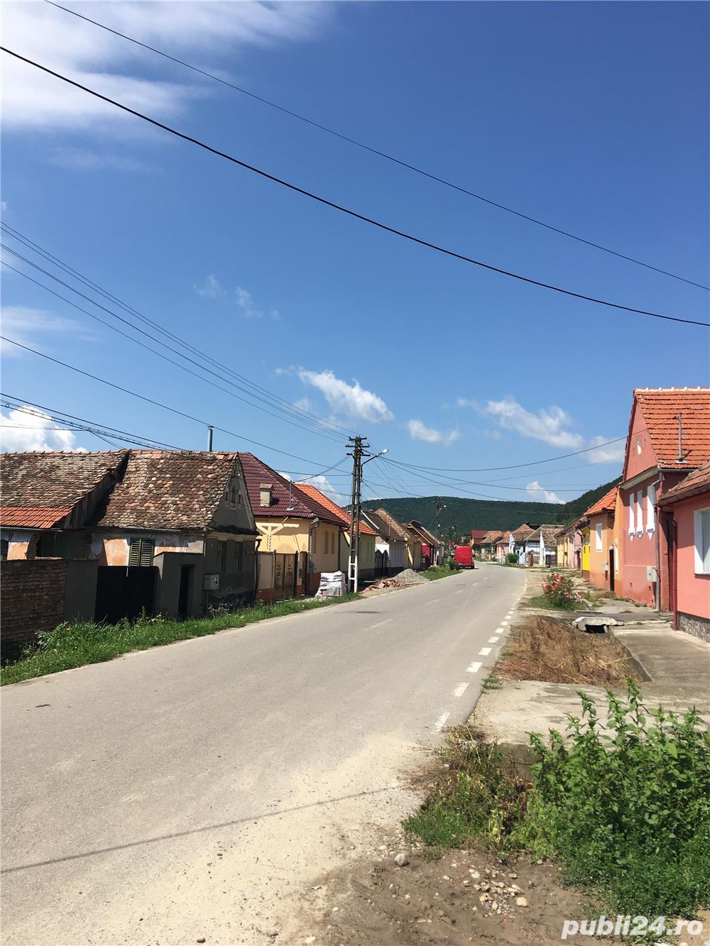 Vand casa saseasca in Seica Mare (Sibiu) central cu teren de 1500 m
