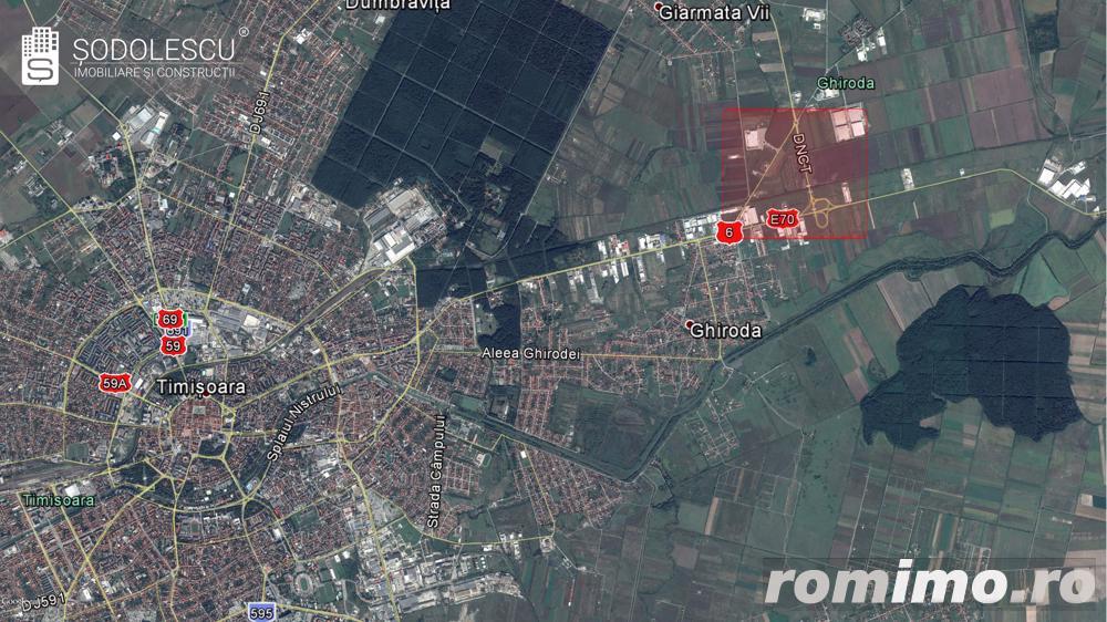 Teren arabil extravilan Zona Aeroport